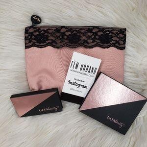 Pink/Black Lace Ipsy Makeup Bundle Deal